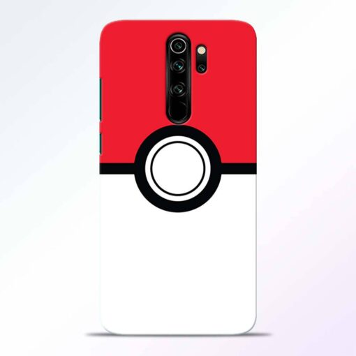 Pokemon Ball Redmi Note 8 Pro Back Cover