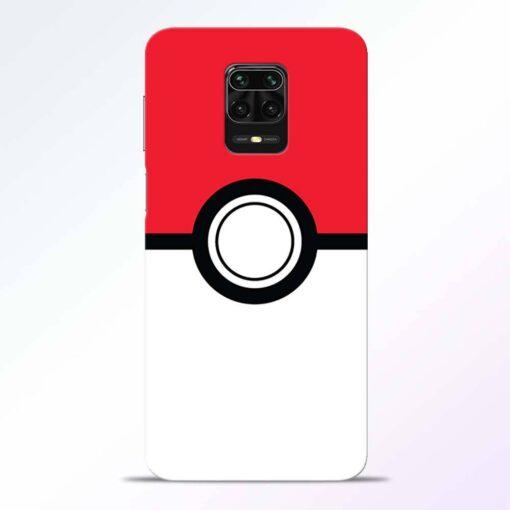 Pokemon Ball Redmi Note 9 Pro Back Cover