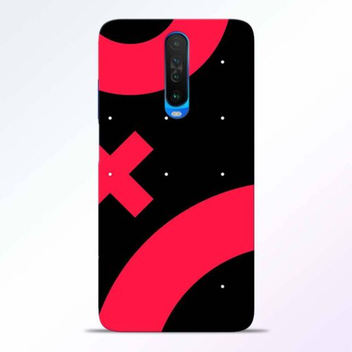 Red Plus Poco X2 Back Cover