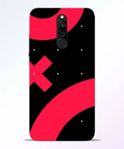 Red Plus Redmi 8 Back Cover