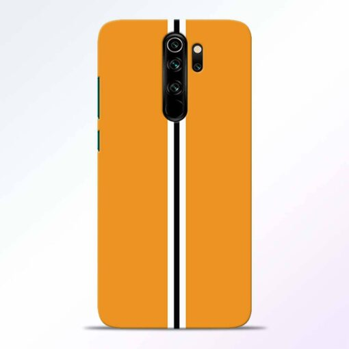 Single Stripes Redmi Note 8 Pro Back Cover