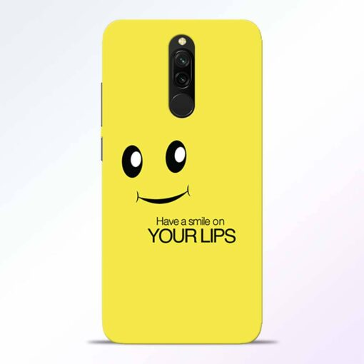 Smile Face Redmi 8 Back Cover