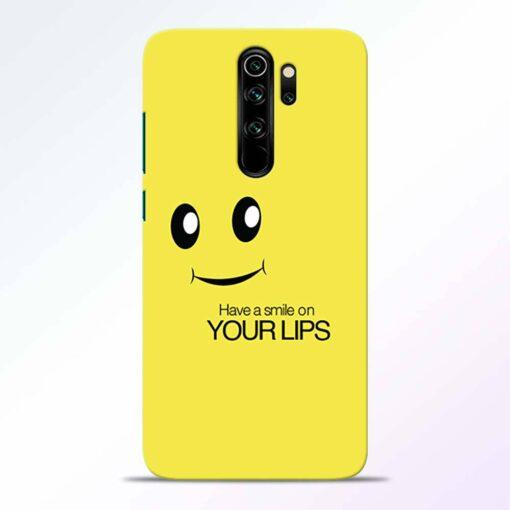 Smile Face Redmi Note 8 Pro Back Cover