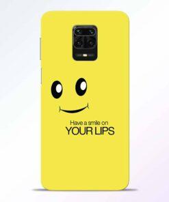Smile Face Redmi Note 9 Pro Back Cover