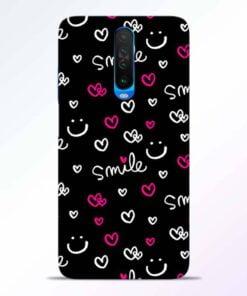 Smile Heart Poco X2 Back Cover