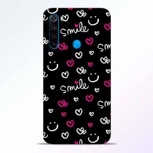 Smile Heart Redmi Note 8 Back Cover