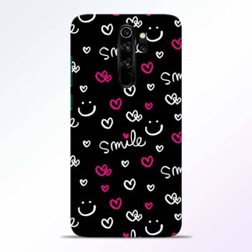 Smile Heart Redmi Note 8 Pro Back Cover