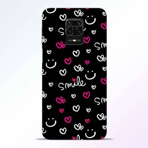 Smile Heart Redmi Note 9 Pro Back Cover