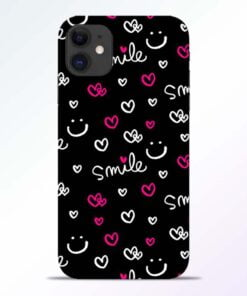Smile Heart iPhone 11 Back Cover