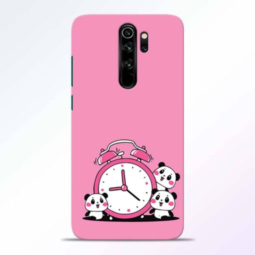 Smiling Clock Redmi Note 8 Pro Back Cover