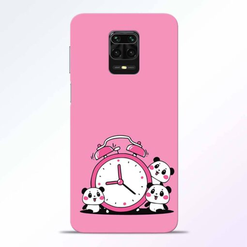 Smiling Clock Redmi Note 9 Pro Back Cover