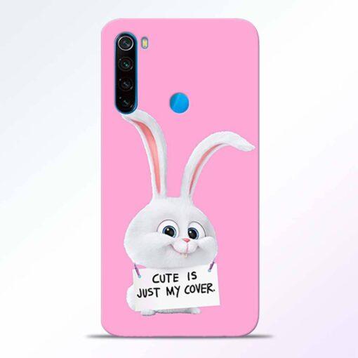 Snowball Bunny Redmi Note 8 Back Cover