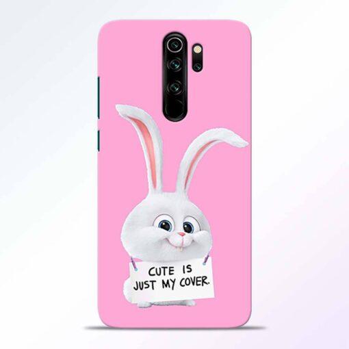Snowball Bunny Redmi Note 8 Pro Back Cover
