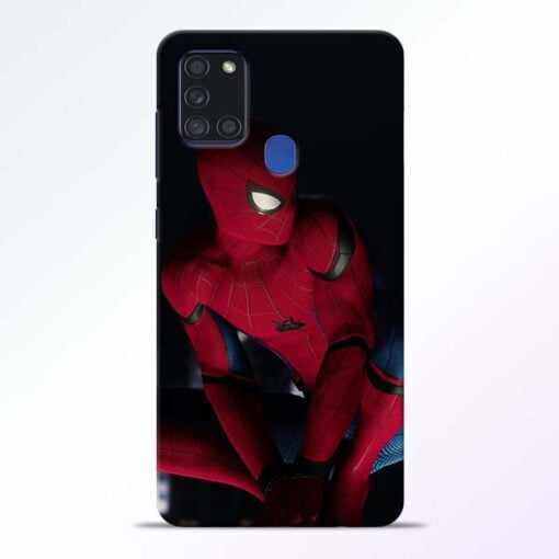 Spiderman Samsung Galaxy A21s Mobile Cover - CoversGap