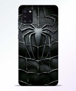Spiderman Web Samsung Galaxy A31 Mobile Cover - CoversGap