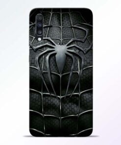 Spiderman Web Samsung Galaxy A70 Mobile Cover - CoversGap