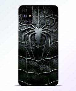 Spiderman Web Samsung Galaxy M31s Mobile Cover - CoversGap