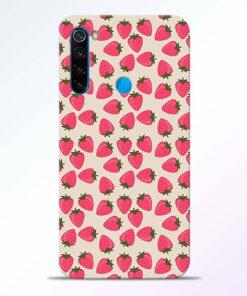 Strawberry Redmi Note 8 Back Cover
