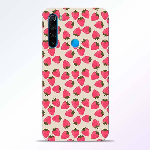 Strawberry Redmi Note 8 Back Cover