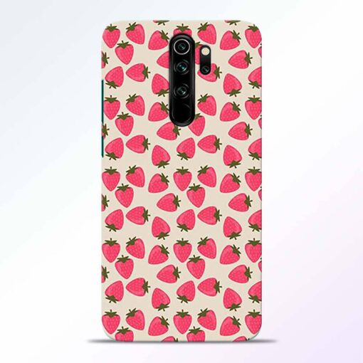 Strawberry Redmi Note 8 Pro Back Cover