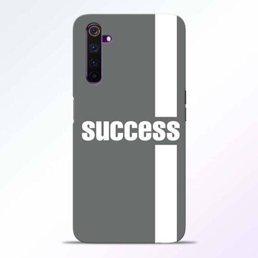 Success Road Realme 6 Pro Back Cover