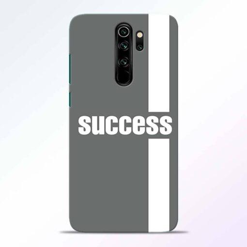 Success Road Redmi Note 8 Pro Back Cover
