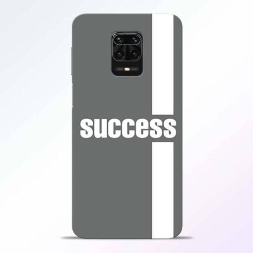 Success Road Redmi Note 9 Pro Back Cover