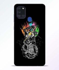 Thanos Hand Samsung Galaxy A21s Mobile Cover - CoversGap