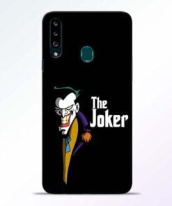 The Joker Face Samsung Galaxy A20s Mobile Cover - CoversGap