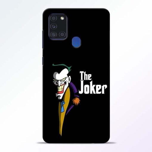 The Joker Face Samsung Galaxy A21s Mobile Cover - CoversGap