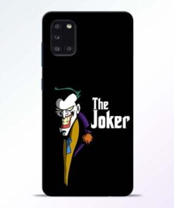 The Joker Face Samsung Galaxy A31 Mobile Cover - CoversGap