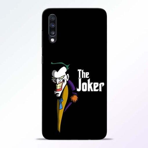 The Joker Face Samsung Galaxy A70 Mobile Cover - CoversGap
