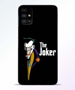 The Joker Face Samsung Galaxy M31s Mobile Cover - CoversGap