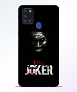 The Joker Samsung Galaxy A21s Mobile Cover - CoversGap