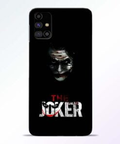 The Joker Samsung Galaxy M31s Mobile Cover - CoversGap