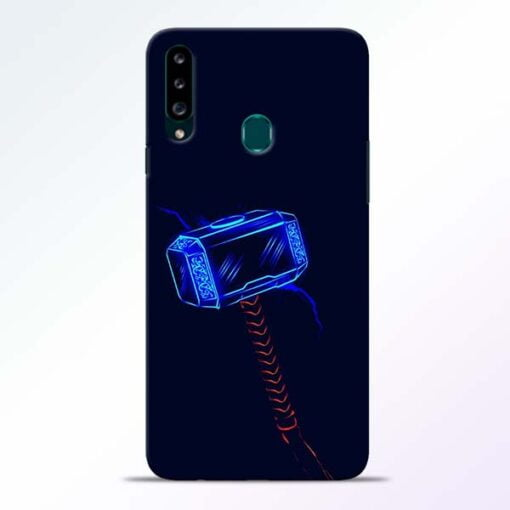 Thor Hammer Samsung Galaxy A20s Mobile Cover - CoversGap