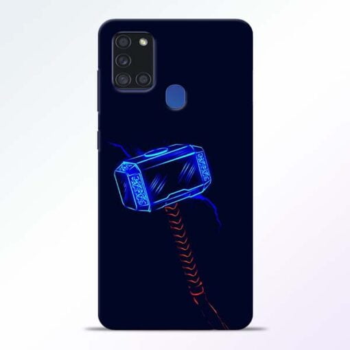 Thor Hammer Samsung Galaxy A21s Mobile Cover - CoversGap