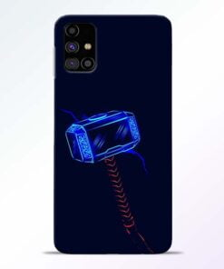 Thor Hammer Samsung Galaxy M31s Mobile Cover - CoversGap