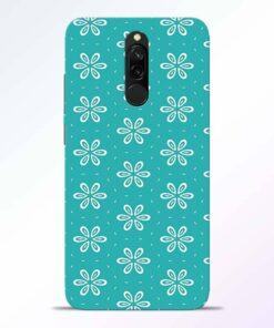 Tiffany Flower Redmi 8 Back Cover