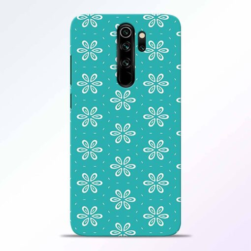 Tiffany Flower Redmi Note 8 Pro Back Cover