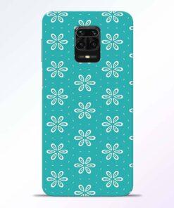 Tiffany Flower Redmi Note 9 Pro Back Cover