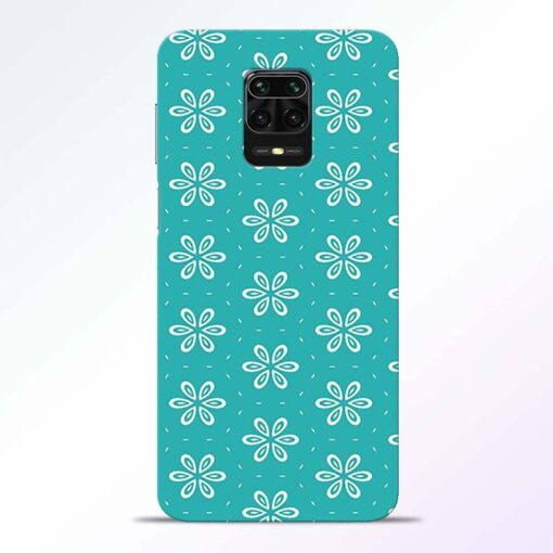 Tiffany Flower Redmi Note 9 Pro Back Cover