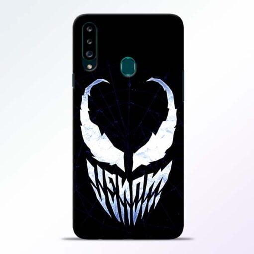 Venom Face Samsung Galaxy A20s Mobile Cover - CoversGap