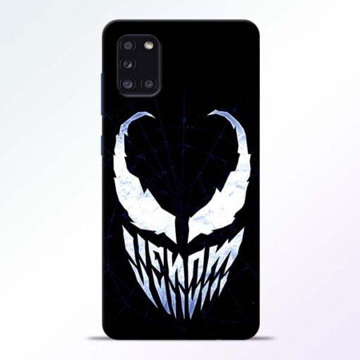 Venom Face Samsung Galaxy A31 Mobile Cover - CoversGap