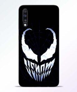 Venom Face Samsung Galaxy A70 Mobile Cover - CoversGap