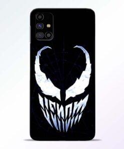 Venom Face Samsung Galaxy M31s Mobile Cover - CoversGap