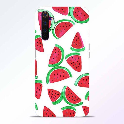 Watermelon Pattern Realme 6 Back Cover