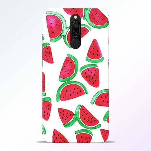Watermelon Pattern Redmi 8 Back Cover