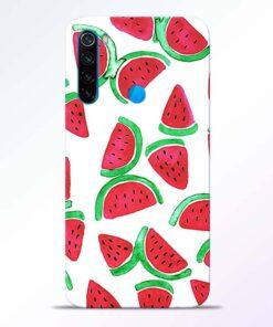Watermelon Pattern Redmi Note 8 Back Cover