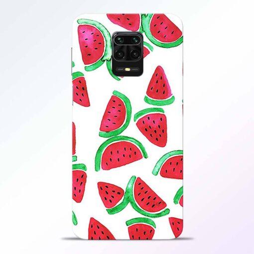 Watermelon Pattern Redmi Note 9 Pro Back Cover